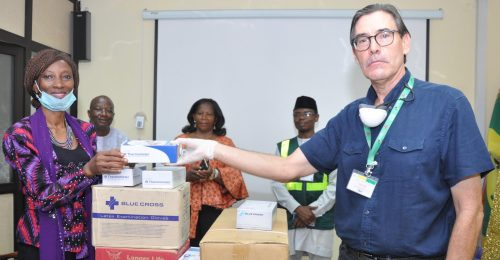 COVID-19: ENL Consortium donates protective kits to NPA