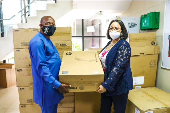 #ENDSARS Attack: ENL donates computers, printers, others to NPA