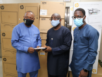 Ports & Cargo donates office equipment to NPA